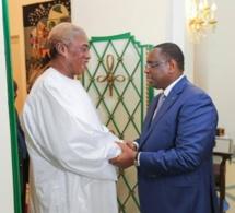 Serigne Abdou Karim Mbacké reçu au Palais