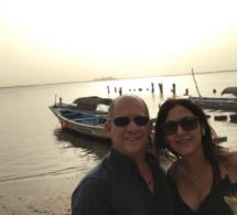 "8 Photos : Raphael Blasi, l'Italien qui s'est suicidé à ""Saly"", avec Nadia Harati"