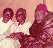 Photo : Feu Ibou Sakho, Serigne Mbaye Sy Mansour et Maodo Sy dans une photo très rare