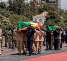 15 photos: Macky Sall salue la mémoire du Colonel El Hadj Mamadou Touré, du capitaine Emmanuel Sarr et de l'adjudant chef Thiendella Fall