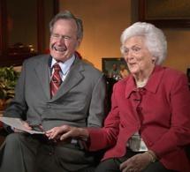 Barbara Bush, épouse puis mère de présidents des États-Unis, est décédée