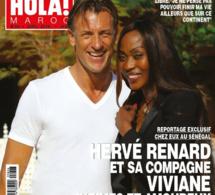 Hervé Renard et Viviane Dièye, la veuve de Metsu, la nouvelle romance