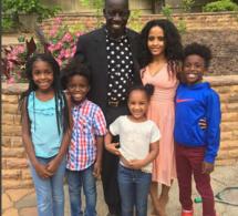 Photos : Mor Thiam, le père de Akon avec toute sa famille