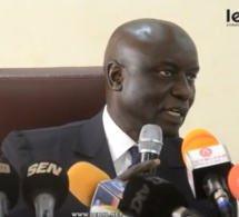 Les images du point de presse de Idrissa Seck à Thies
