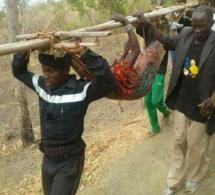 PHOTO - Kédougou: L'évacuation des malades se fait parfois avec ça...