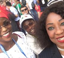 Photos : Marième Faye Sall et Fatou Samoura célèbrent la victoire des Lions