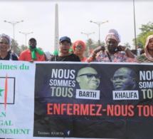 Sénégal : le film diaporama de la marche de l'opposition du 13 juillet 2018