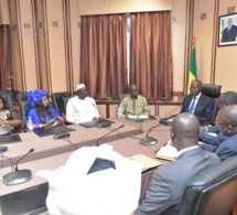 Après leur audience avec le Premier Ministre Mahammed Boun Abdallah Dionne, Bara Sow et la Fédération des laobés du Sénégal et de la diaspora ( Flsd ) plus que jamais déterminés à réélire Macky Sall