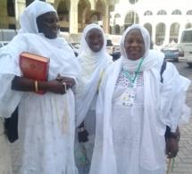 Adja Fatou Kiné Mbaye, maman de Coumba Gawlo Seck en quelques clichés á la Mecque