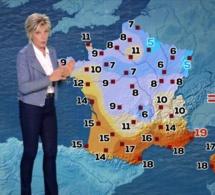 Evelyne Dhéliat: Pourquoi l'animatrice météo ne porte plus de jupe ces derniers jours?