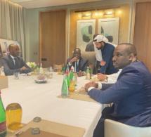 Photos/ Dubaï: Le Président Macky Sall, Elimane Lam et Hussain Sajwani