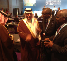 Sidiki Kaba à la conférence de Londres sur la crise Syrienne (Les images)