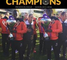 L'étoile qui monte , Mamadou Fall champion de la 2e division belge avec RWS Bruxelles