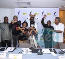 """En images la conférence de presse de """"Y en a marre"""" avec Angélique Kidjo et Amnesty international"""