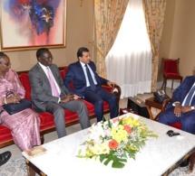 1 juin 2015 - Dr Ali Bin Fetais Al- Marri Procureur Général de l'Etat du Qatar et Abdoulaye Mar Dieye, Directeur du Bureau régional pour l'Afrique du PNUD reçus en Audience par le Président Macky Sall