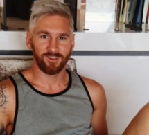 Lionel Messi change de look et se teint en blond !
