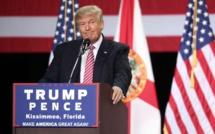 Elections américaines: Trump en tête d'un sondage, Hilary Clinton tremble