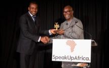 Wari primé par Speak Up Africa à New York