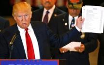 Etats-Unis : le programme des 100 premiers jours de la présidence Trump