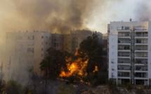 Israël : 50.000 personnes évacuées à Haïfa, suite à des incendies