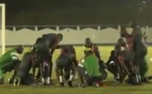 Vidéo: la séance d'entraînement des Lions après la victoire contre la Tunisie