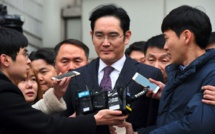 Corée du Sud: l'héritier de Samsung de nouveau entendu lundi
