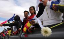 """Mexique: un """"mur humain"""" à la frontière pour protester contre Donald Trump"""