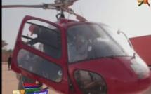 Vidéo – El Hadji Ndiaye se déplace avec son propre hélicoptère en Gambie… Regardez !