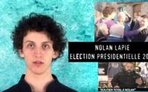 Nolan, l'homme qui avait giflé Manuel Valls, annonce sa candidature