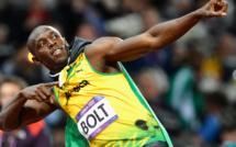 Usain Bolt fait le 100 m: Usain Bolt vs Carl Lewis vs Jesse Owens, regardez