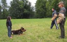 Vidéo: Un berger allemand protège une petite fille de 5 ans