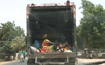 Vidéo: Auto Mbalit devenu transport en commun, regardez!!!