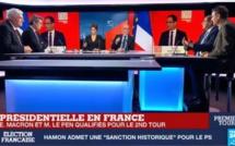 Suivez la soirée électorale du 1er tour de la présidentielle 2017 de France24 en direct sur leral.net