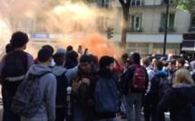 Paris : plusieurs lycées bloqués pour dénoncer le duel Macron - Le Pen au second tour