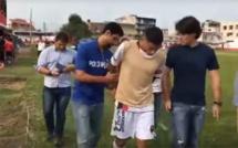 Vol de voitures et arnaque de cartes de crédit: Un joueur brésilien arrêté en plein match