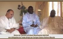 Mauritanie: Délégation de Touba pour présenter ses condoléances à la famille du défunt Président
