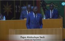 """Papa Abdoulaye Seck, ministre de l'Agriculture: """"il n'existe pas famine au Sénégal"""""""
