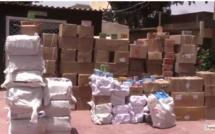 Thiès : 2 tonnes de médicaments et de produits frauduleux d'une valeur de 55 millions FCFA saisis par les douaniers