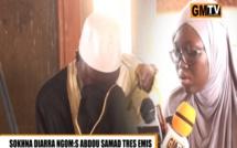 Mame Diarra Ngom récite un verset du Coran et fait pleurer Serigne Abdou Samad… Regardez. C'est émouvant