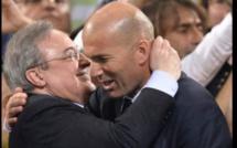 Réal Madrid: l'émouvant message du président Florentino Perez à Zinedine Zidane