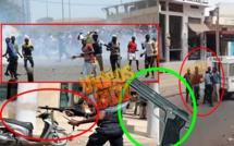 Vidéo-Affrontements à Touba marché Ocass: Un policier aurait tiré à balles réelles sur les manifestants...