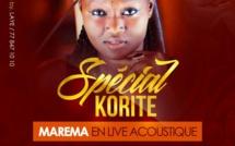 Marema en live accoustique au Titan Club le dimanche 2 juillet à Paris