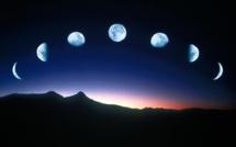 Explication sur l'apparition du croissant lunaire