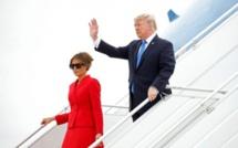 Donald Trump et son épouse à Paris pour les cérémonies du 14 juillet (vidéo)