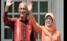 Singapour: La première femme élue présidente sans vote