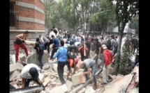 Mexique: un séisme de magnitude 7.1 fait de nombreux morts