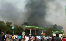Le bilan des violents affrontements entre manifestants et policiers au Niger est lourd (photos)