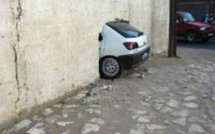 Un accident bien insolite