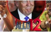 Trump dans Allo12 avec Tapha Touré ak Ndiol Toth Toth