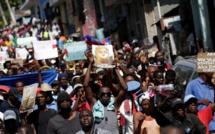 A Port-au-Prince, un millier d'Haïtiens manifestent contre les injures de Trump